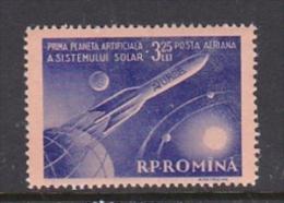 Romania 1959 Lunik 1 MNH - 1948-.... Republics