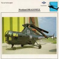 WESTLAND    DRAGONFLY    2 SCAN   (NUOVO CON DESCRIZIONE E SCHEDA TECNICA) - Elicotteri