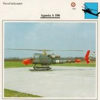 AUGUSTA   A  106    2 SCAN   (NUOVO CON DESCRIZIONE E SCHEDA TECNICA) - Elicotteri