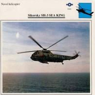 SIKORSKY  SH-3  SEA  KING    2 SCAN   (NUOVO CON DESCRIZIONE E SCHEDA TECNICA) - Elicotteri