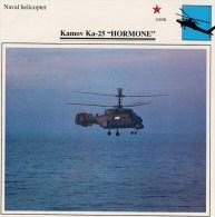 """KAMOV  KA-25  """"HORMONE""""    2 SCAN   (NUOVO CON DESCRIZIONE E SCHEDA TECNICA) - Elicotteri"""