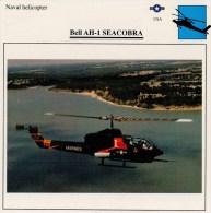 BELL  AH-1   SEACOBRA    2 SCAN   (NUOVO CON DESCRIZIONE E SCHEDA TECNICA) - Elicotteri