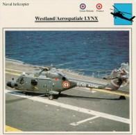WESTLAND/AEROSPATIALE  LINX      2 SCAN   (NUOVO CON DESCRIZIONE E SCHEDA TECNICA) - Elicotteri