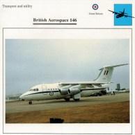 BRITISH  AEROSPACE   146      2 SCAN   (NUOVO CON DESCRIZIONE E SCHEDA TECNICA) - Elicotteri