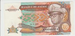 Zaire 500 Zaires 1989 Pick 34 UNC - Zaire