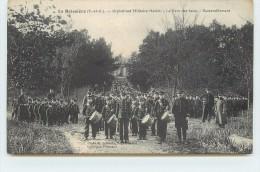 LA BOISSIERE - Orphelinat Militaire Hériot, Le Parc Des Jeux, Rassemblement. - France