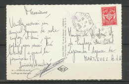 LETTRE-1808-Bouches Du Rhone- Carte Postale Plage Massane Fm 12 Istres Pour Martigues 2/9/1961 - 1961-....