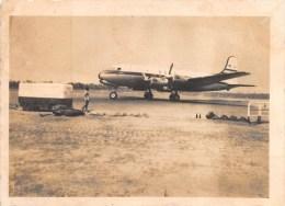 """01377 """"QUADRIMOTORE DOUGLAS DC-4  - BOAC - ANNI '50"""" ANIMATA, FOTOGRAFIA ORIGINALE. - Aviazione"""