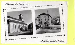 MIRIBEL Les ECHELLES - L´Eglise - L´Hôtel De La Place - Autres Communes