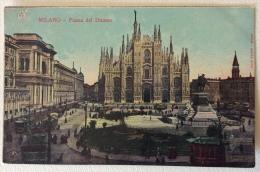 Milano Piazza Del Duomo Non Viaggiata F.p. - Milano