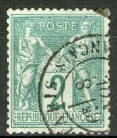 N°74 Oblitéré    - Cote 20€ -