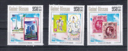 Tim 0234 Guinee Bissau Thailande Thailand Premier Timbre 2013 2011 2012 1983 - Briefmarken Auf Briefmarken