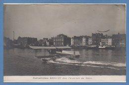 76 - Le HAVRE --  Hydroaéroplane BREGUET Dans L'avant Port - Le Havre