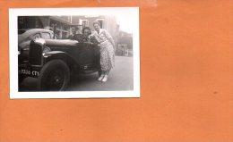 Photo Gévaert  Ridax à Identifier - Automobile (dimensions 9 X 6.5cm) - A Identifier