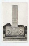 60 * ALLONNE * STELE EN MEMOIRE DE LA CATASTROPHE DU DIRIGEABLE  R 101 DU 5 OCT. 1930 - GROS PLAN - Autres Communes