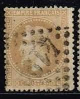 Frankreich 1862, Michel# 27 O - 1862 Napoleon III