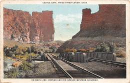 Z15730 United States Of America Utah Price River Canion Denver And Rio Grande Western Railroad - Autres