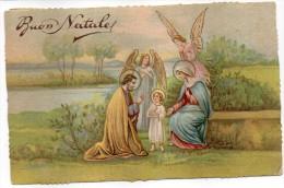 BUON NATALE TEMATICA AUGURI NATALE ANGELI GESU' ANNI/40 - Natale