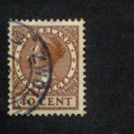 NEDERLAND GEBRUIKT USED OBLITERE YVERT NR 184 NVPH 196a - 1891-1948 (Wilhelmine)