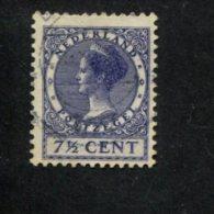NEDERLAND GEBRUIKT USED OBLITERE YVERT NR 174 NVPH 179a - 1891-1948 (Wilhelmine)