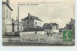 ORVILLIERS  - Place De La Croix Blanche Et Entrée De La Grande Rue. - France