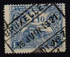 Belgien 1915, Michel# 72 O - Bahnwesen