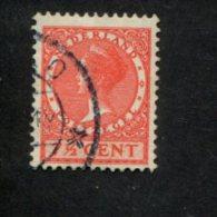 NEDERLAND GEBRUIKT USED OBLITERE YVERT NR 209 NVPH 180a - 1891-1948 (Wilhelmine)
