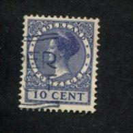 NEDERLAND GEBRUIKT USED OBLITERE YVERT NR 210 NVPH 183a - 1891-1948 (Wilhelmine)