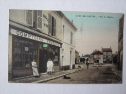 77 SEINE ET MARNE Jouy Le Châtel Rue De L´église Comptoirs Français Magasin Succursale ?409 - France