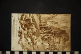CP, MILITARIA GUERRE 1914-18 1914...Courage Allemand...Publcite Au Dos : JAVEL COTELLE CROIX N° 105 Vierge - Guerra 1914-18