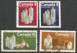 Canada. 1972 Christmas. Used Complete Set. SG 745-748 - 1952-.... Reign Of Elizabeth II