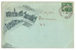 CPA 69 LYON Exposition  Universelle 1894 Multivues Et Grande Coupole - Altri