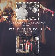ST.VINCENT ; SCOTT # ; IGPC 1409 S ; MINT N H STAMPS ( POPE JOHN PAUL II - St.-Vincent En De Grenadines