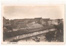 carte photo  birmanie - rangoon - �glise - camp de prisonniers britaniques pendant occupation japonaise ?
