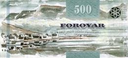 FAEROE P. 32 500 K 2011 UNC - Féroé (Iles)