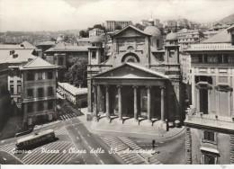 GENOVA - PIAZZA E CHIESA DELLA S.S. ANNUNZIATA - Genova