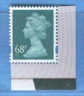 GRAN BRETAGNA - Ordinaria 68p - 1952-.... (Elisabetta II)