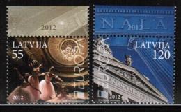CEPT 2012 LV MI 829-30  LATVIA - 2012