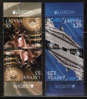 CEPT 2012 LV MI 829-30  Kd   LATVIA - Europa-CEPT