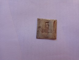 1  Lame De Poids En Cuivre (´sous Reserve) 5 Deci-pour Bijoutier-- - Jewels & Clocks