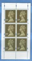GRAN BRETAGNA - Ordinaria 19p - 1952-.... (Elisabetta II)