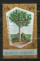 NEW HEBRIDES CONDOMINIUM 1969 - KAORI TREE - MNH MINT NEUF NUEVO - English Legend