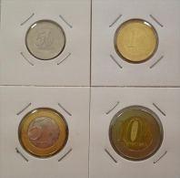 # ANGOLA 4 Piéces De Monnaie 2012 (50 Cts; 1 Kz; 5 Kzs Et 10 Kzs) UNC - Angola