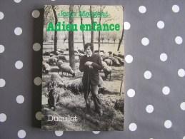 ADIEU ENFANCE  Mergeai Jean Auteur Belge Histoire Gaume Ardenne - Belgische Schrijvers
