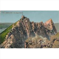 GBTTP1363-LFT3412.Tarjeta Postal De GIBRALTAR.Mar Y Roca.The Signal Station. - Gibilterra