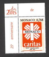 Monaco 2015 - Yv N° 2971 ** - 25 Ans De Caritas - Neufs