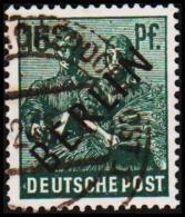 1948. BERLIN. Black Overprint. 16 Pf.  SCHLEGEL BBP. (Michel: 7) - JF221431 - Oblitérés