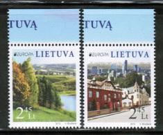 CEPT 2012 LT MI 1103-04  LITHUANIA - Europa-CEPT