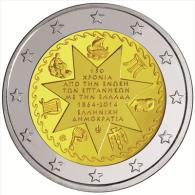 "GRECIA / GREECE     2€ Bimetálica    2.014  2014   SC/UNC   ""ISLAS JONICAS""   T-DL-11.298 - Grecia"