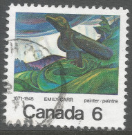 Canada. 1971 Birth Centenary Of Emily Carr. 6c Used. SG 674 - 1952-.... Reign Of Elizabeth II